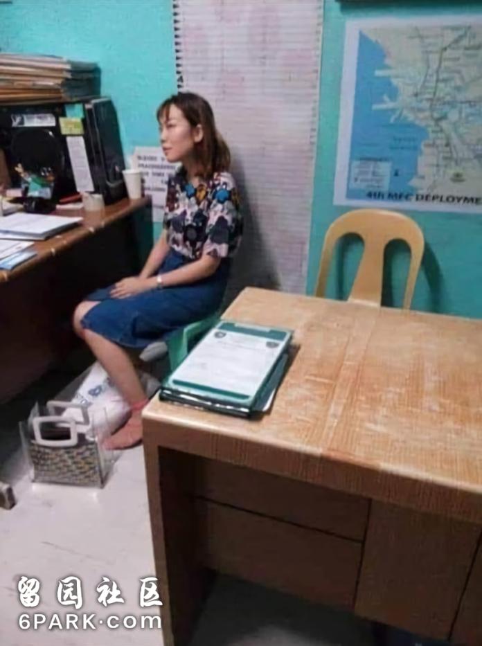 ▲23歲的大陸女留學生Jiale Zhang怒潑豆花後隨即就被逮捕。 (圖 / 翻攝自網易視頻)