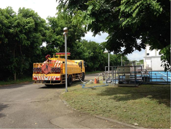 珍惜水資源 中市水資中心淨化汙水免費取用