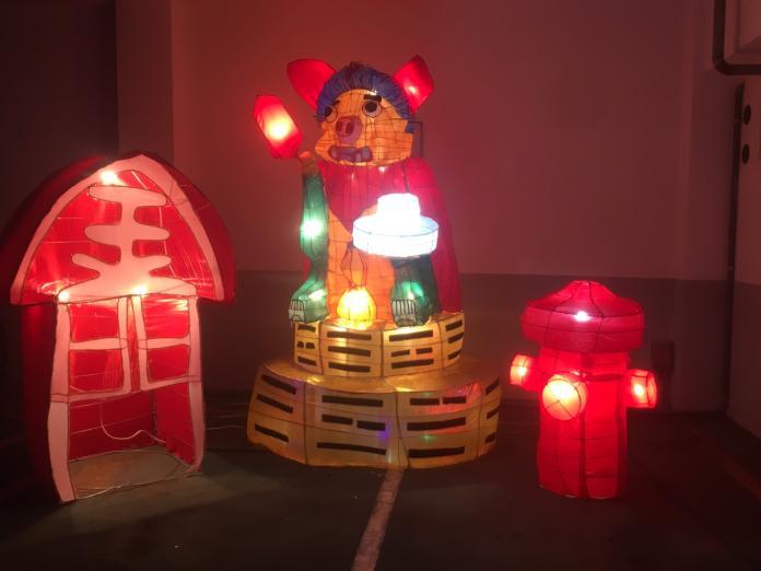 金門消防局花燈