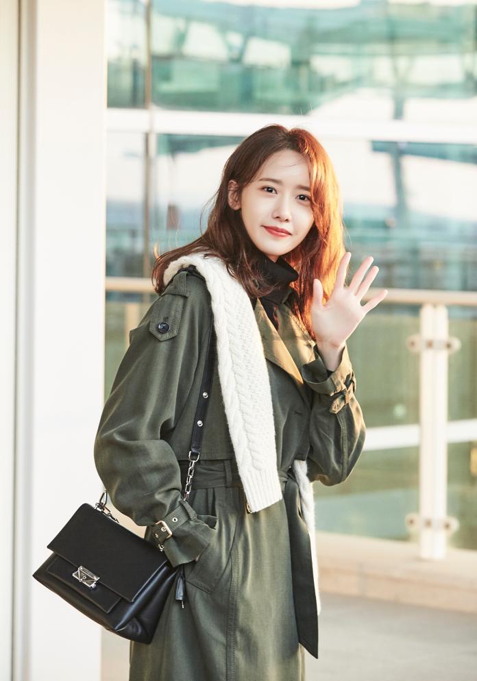 <br> 潤娥準備前往紐約觀賞 Michael Kors 2019 秋季時裝秀。圖@Michael Kors