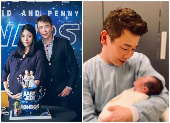 ▲太太Penny提早「卸貨」,陶喆正式升格當爸。(圖/翻攝臉書)