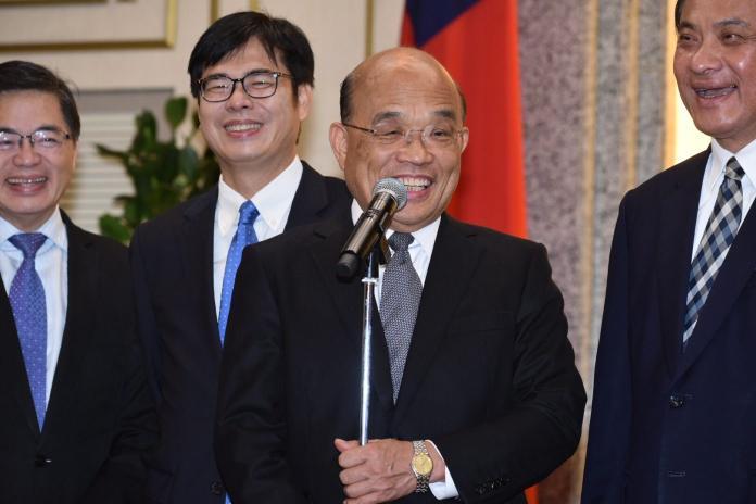 新任閣揆蘇貞昌從上任開始,再三提到要「接地氣、平民怨」。(圖/NOWnews資料照)