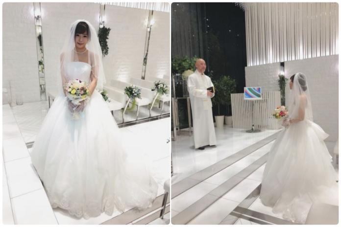 說好不結婚的!日本AV<b>才女</b>紗倉真菜披白紗