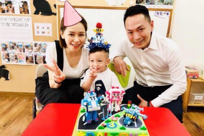 ▲徐若瑄和李雲峰結婚五年,育有一子Dalton。(圖/徐若瑄臉書)