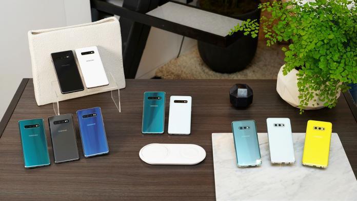 ▲三星Galaxy S10系列手機台灣售價與上市日期公開了。(圖/三星提供)
