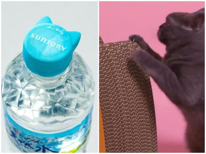 ▲因應 222 貓之日,日本許多廠商推出超萌貓系列商品,不過可惜皆無販售。(圖/翻攝自 Twitter )
