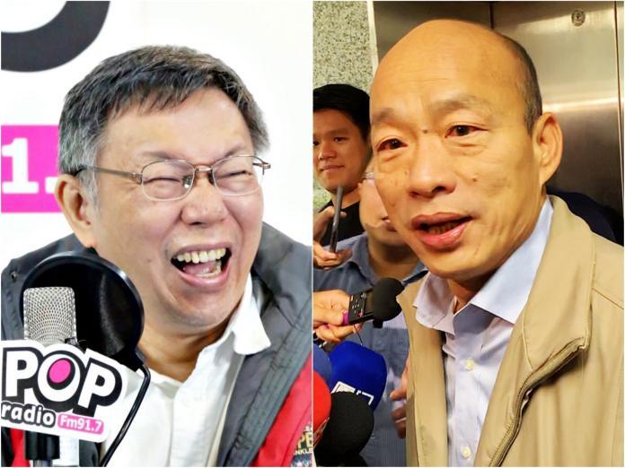 ▲柯、韓將參選 2020 ?他驚曝 2019 台灣政壇「最大變數」。(合成圖/NOWnews資料照)