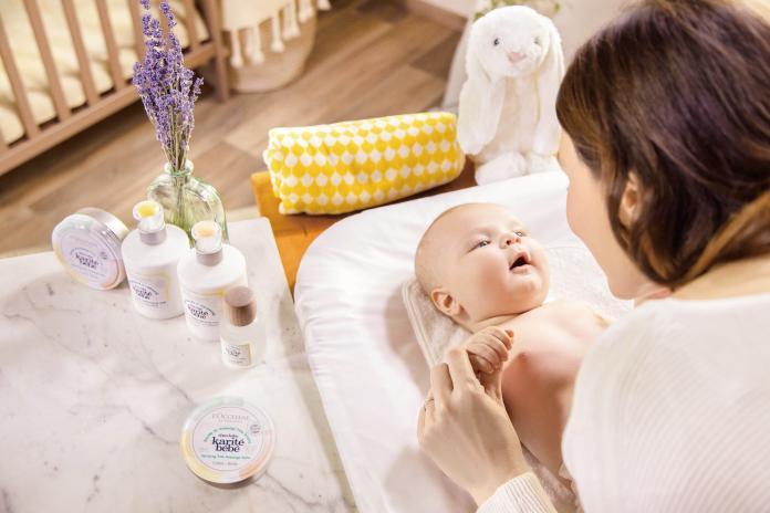 L'OCCITANE 乳油木寶寶系列形象圖