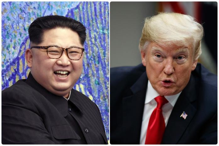 ▲美國總統川普與北韓領導人金正恩。資料照。(圖/美聯社/達志影像)