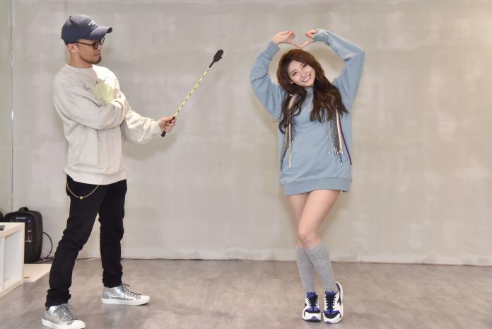 ▲祈錦鈅單曲的舞蹈請來濱崎步的舞蹈來師編舞。(圖/WEBTVASIA TAIWAN提供, 2019.02.26)