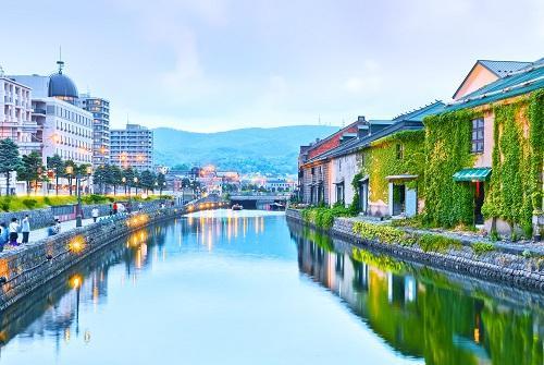 3.▲小樽運河充滿異國情調(圖 shutterstock.com)