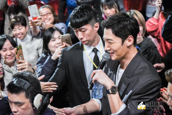 崔振赫粉絲見面會。(圖/記者陳明安攝,2019.02.28)