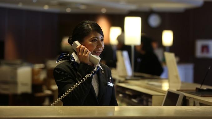 ▲ 日本東急飯店首次來台招聘,起薪上看約台幣7萬元。(圖:國賓提供)