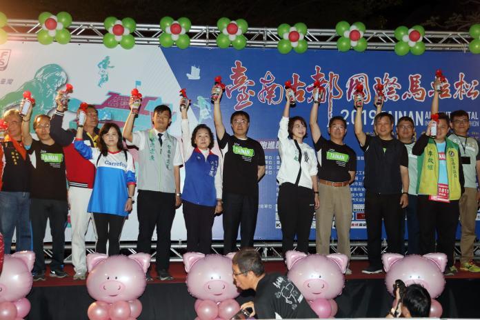 第13屆台南古都國際馬拉松 1.6萬多名跑者參賽