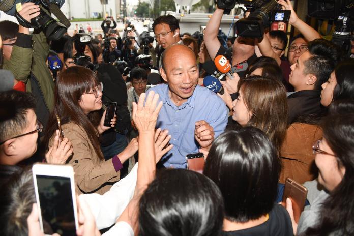 韓國瑜是「作秀狂、唬爛大王」?外國記者:韓流撕裂台灣