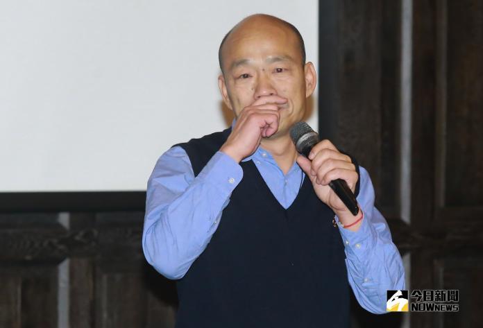 ▲高雄市長韓國瑜受工商協進會邀請來分享高雄如何崛起發大財。(圖/記者葉政勳攝 , 2019.03.06)