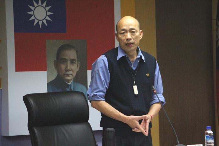 ▲高雄市長韓國瑜。(圖/記者郭凱杰,2019.03.07)