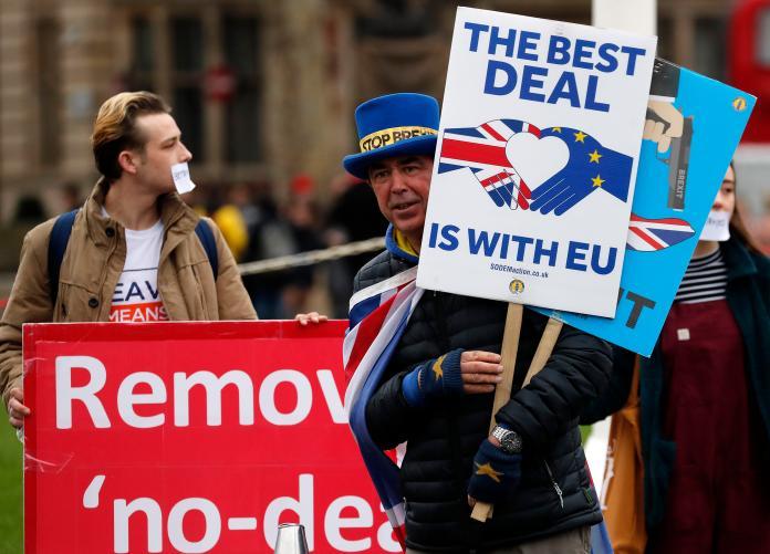 ▲英國雖然已脫歐,但後續處理仍陷入膠著,國內有出現嚴重分歧。資料照。(圖/美聯社/達志影像)