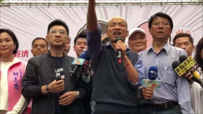 影/嗆「<b>鬼混</b>的」政治人物下台 他慘被韓國瑜打臉