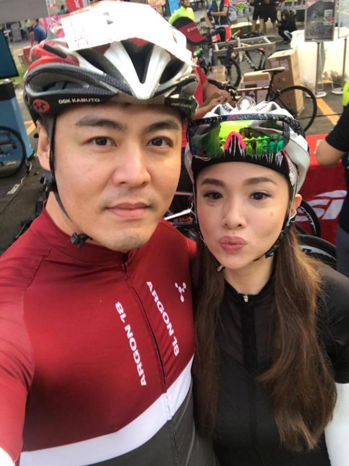 <br> ▲劉至翰去年1月與前妻Vivian離婚。(圖/翻攝臉書)