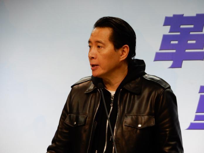國民黨發言人歐陽龍。(圖 / 記者陳弘志攝,2019.03.13)