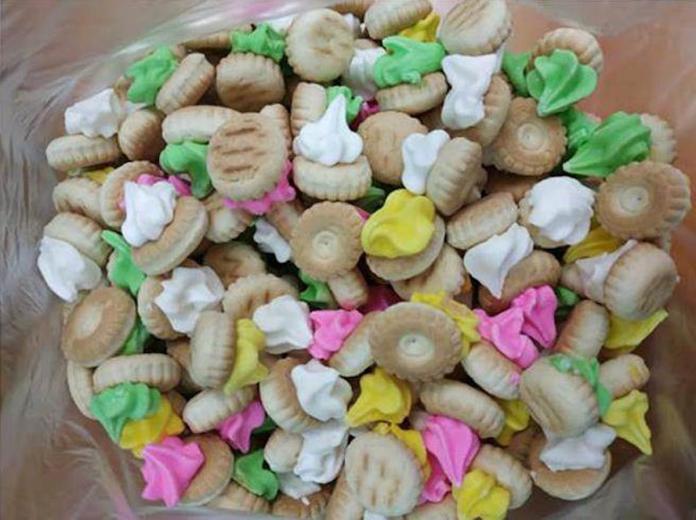 肚臍餅?古早味餅乾「本名」曝光 網友:上面糖霜超好吃