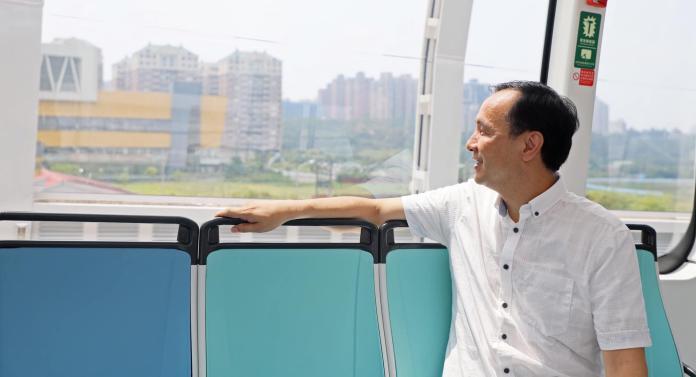 前新北市長朱立倫。(圖 / 翻攝朱立倫臉書)