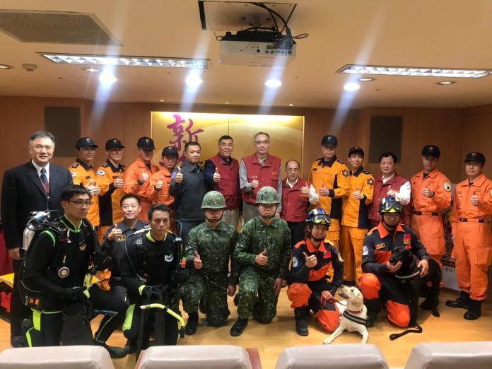 新北民安5號演習 模擬陸海空各式災難救援
