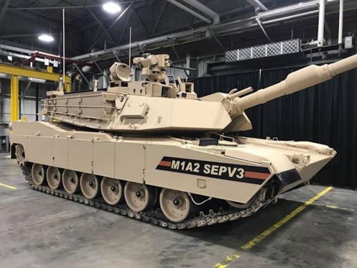 ▲美國陸軍M1A2 SEPV3。(圖/美國陸軍)