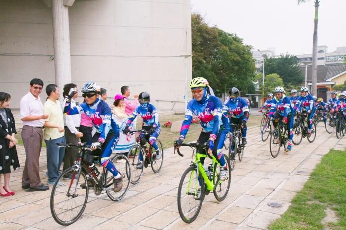 <br> ▲此次參與的63位勇士騎了1,008公里,希望藉此活動能拋磚引玉引起社會與企業界共襄盛舉。(圖/記者陳雅芳攝,2019.03.20)