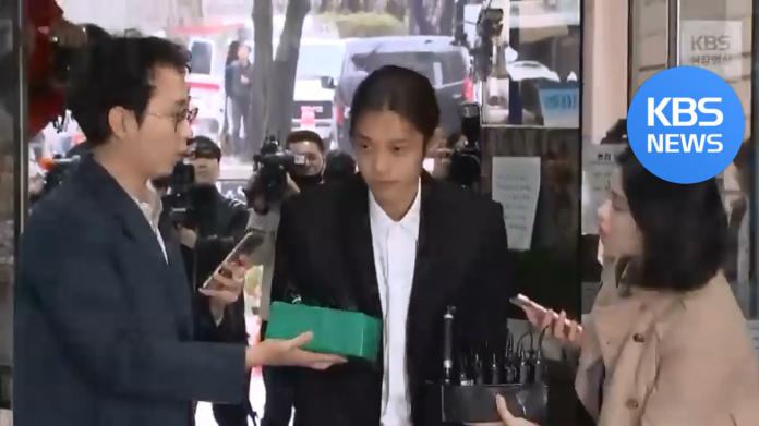 <br> ▲鄭俊英日前承認罪行,並向受害女性致歉。(圖/翻攝KBS YouTube)