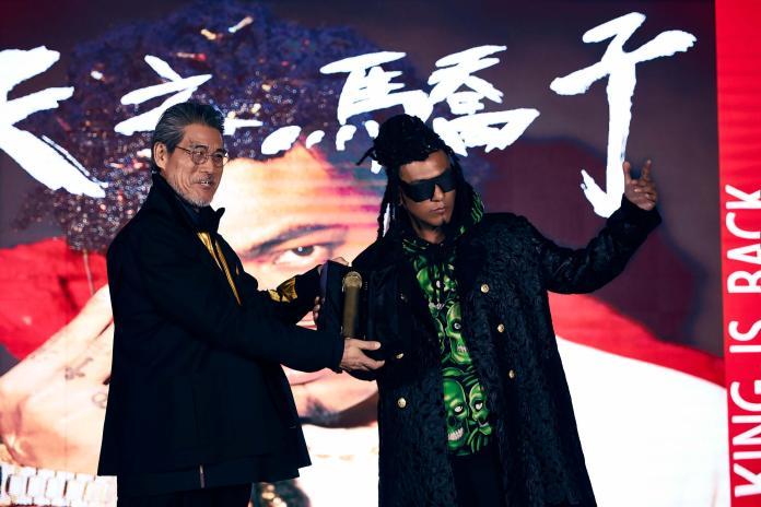 ▲熊仔以「豹子膽」的名義推出第二張專輯,還請來嘎嘎合作MV。(圖/索尼音樂提供, 2019.03.21)
