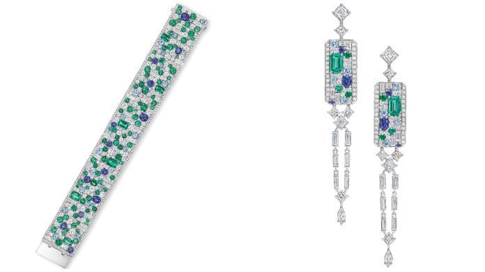 海瑞溫斯頓 New York Collection Central Park Mosaic 頂級珠寶作品。圖@Harry Winston