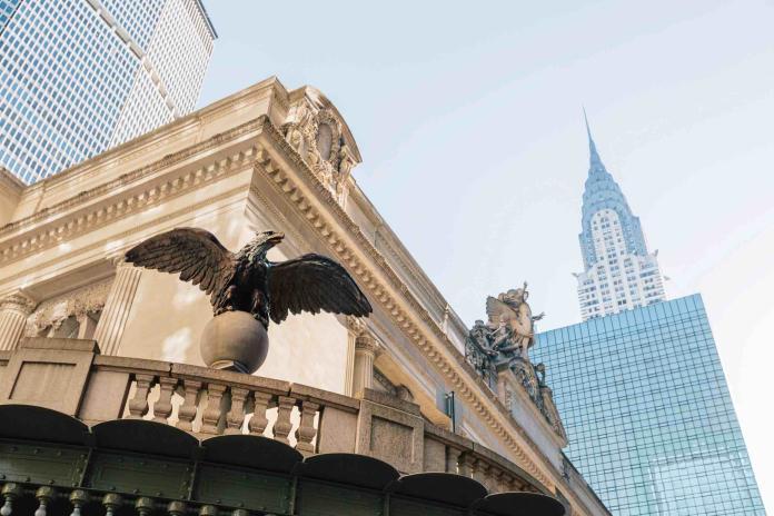 紐約中央火車站鑄鐵雄鷹。圖@Harry Winston