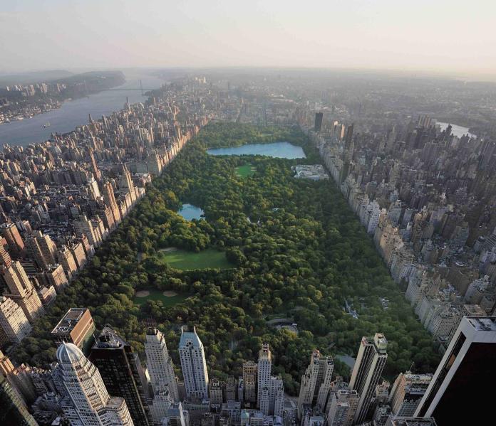 紐約標誌性的 Central Park 中央公園。圖@Harry Winston