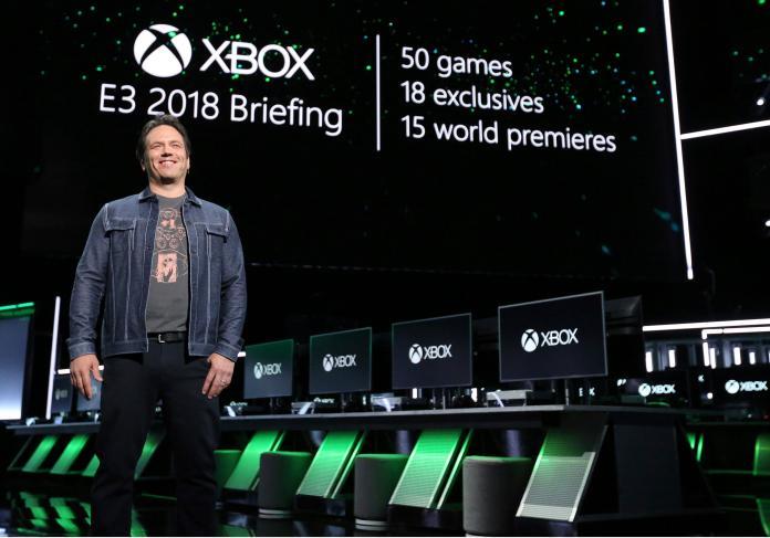 <br> ▲微軟Xbox總裁Phil Spencer。(圖/達志影像/美聯社)