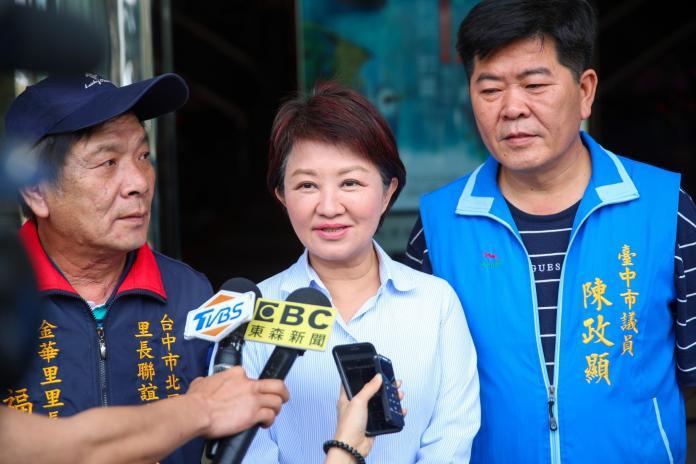 空汙嚴重中火降載少 盧秀燕:代表中部人抗議