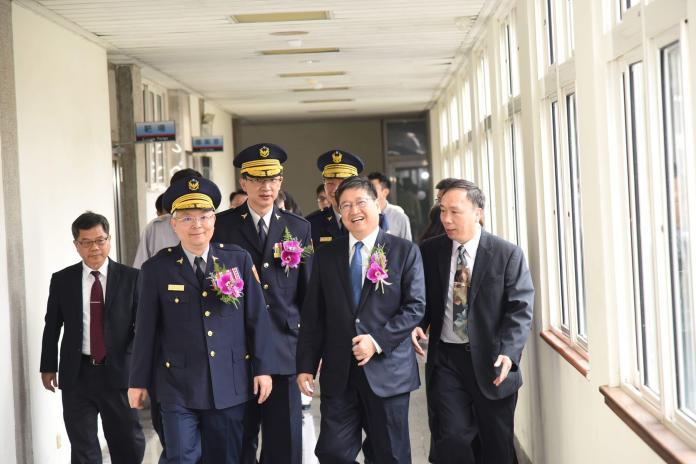 黃家琦接掌新竹縣警察局兵符 張榮興調陞航警局副座