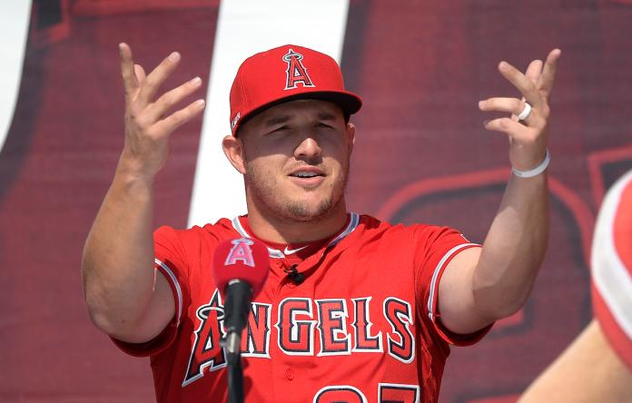 Mike Trout(圖/美聯社/達志影像)