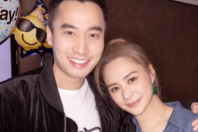 ▲阿嬌(右)與丈夫賴弘國。(圖/IG)