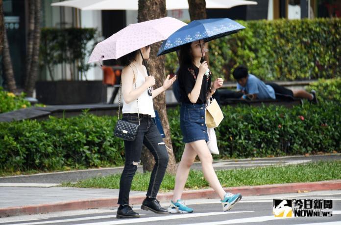 高溫籠罩全台紫外線破表 颱風楊柳最快今日生成