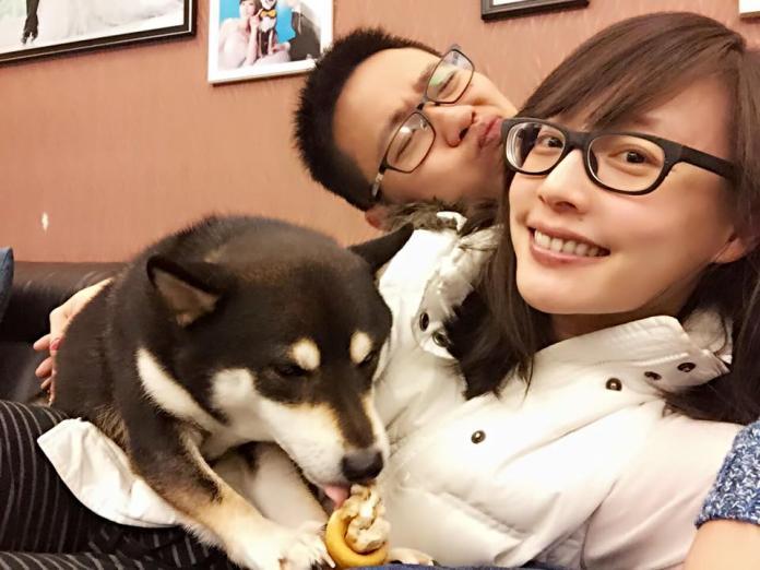 吳宇舒和老公
