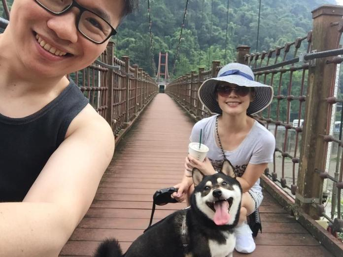<br> ▲ 吳宇舒和老公結婚6年。(圖/翻攝朱凱翔臉書)