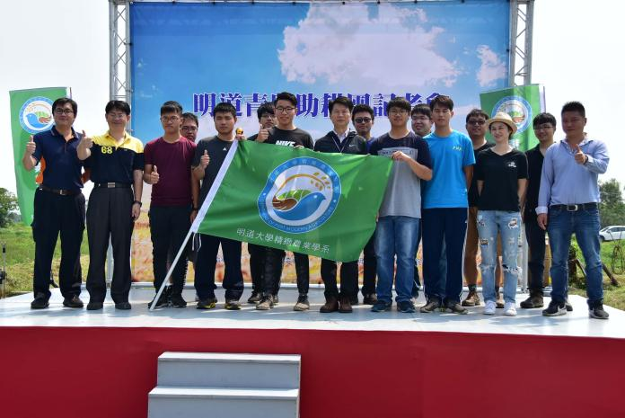 影/明道成立「青農助耕團」 協助在地農民種好米