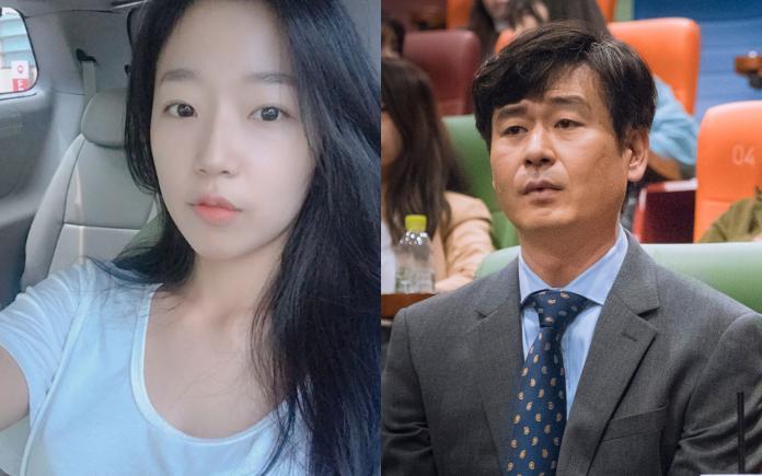 ▲曹秀香(左)與朴赫權遭爆熱戀,兩人差20歲。(圖/曹秀香IG、JTBC官網)