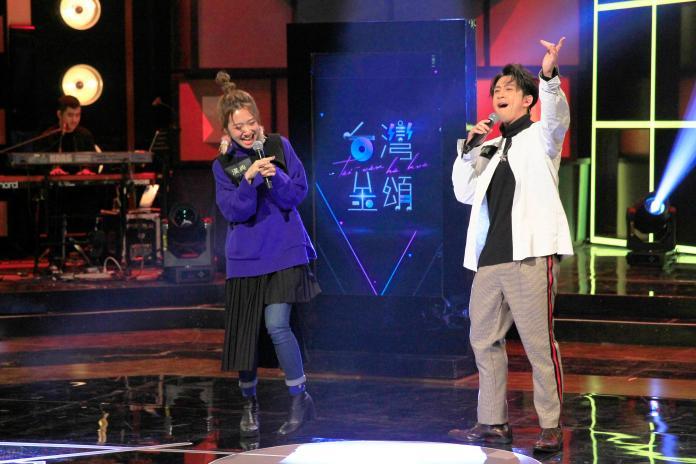 陳漢典、Lulu參加《台灣金頌》節目錄影大秀歌喉1
