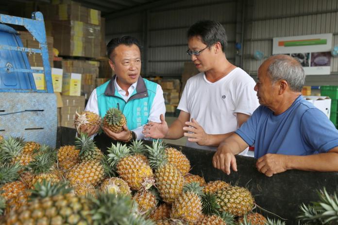 地瓜後拼鳯梨外銷 翁章梁要讓全世界吃到嘉義農產