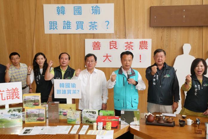 翁章梁轟韓國瑜傷害<b>茶農</b>!孫大千批:吃不到葡萄說葡萄酸