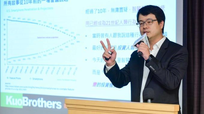 ▲ 創業家兄弟共同創辦人暨董事長郭書齊。(圖:創業家提供)