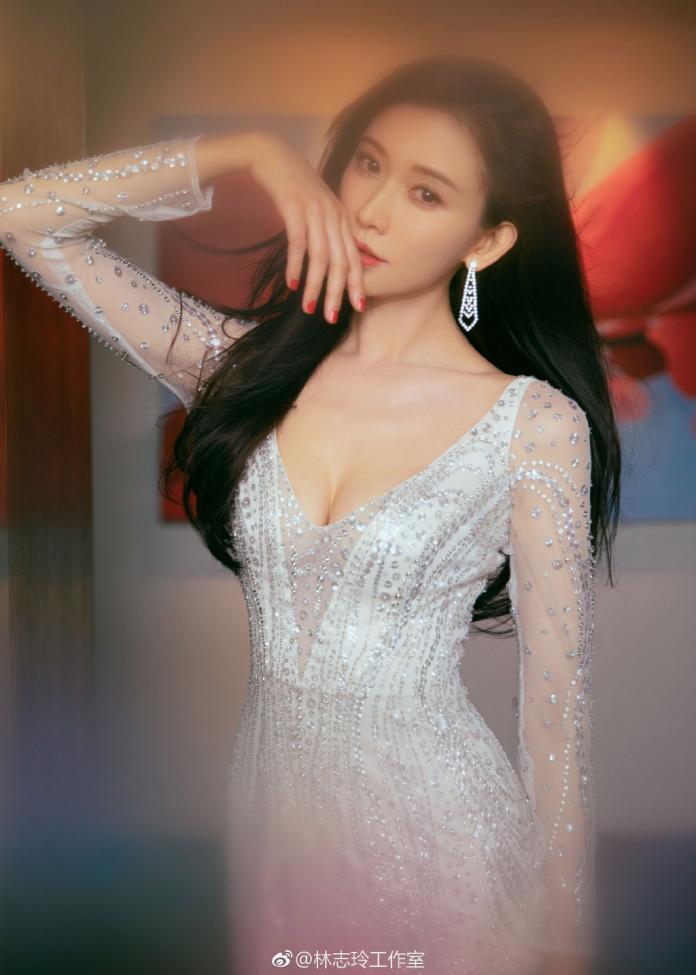 <br> ▲林志玲是許多人心中的女神。(圖 / 翻攝微博)